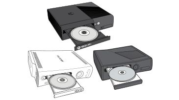 Disk in the Xbox