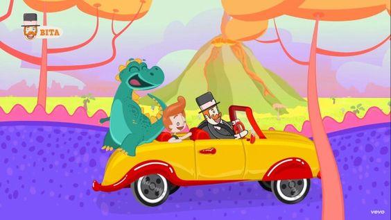 Dinossauro e Carro do Bita