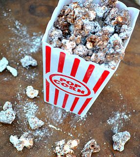 For Terry - peanut butter and chocolate popcorn