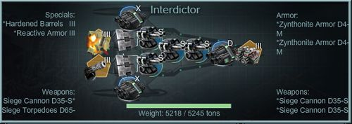 Interdictor Advanced Fleet Builds Strategy for Battle Pirates