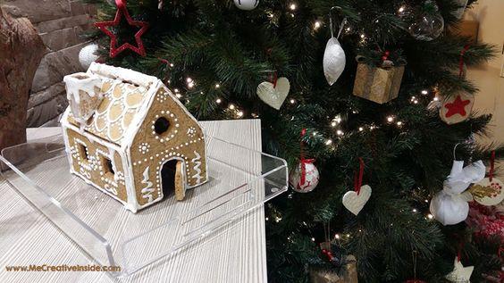 Me CreativeInside casetta di Pan di Zenzero Natale biscotti