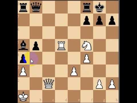 الغاز الشطرنج الغز الرابع