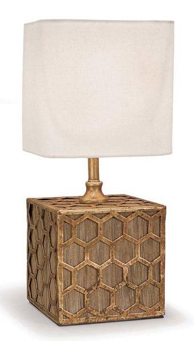 Honeycomb Mini Table Lamp Mini Table Lamps Gold Table Lamp Mini Lamp