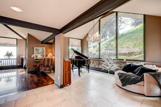 A truly rare opportunity to own six acres and an architecturally significant home on Boulder's coveted Mt. Sanitas! Another incredible #ColoradoLandmark luxury listing. #luxuryrealestate #luxuryhomes #coloradohomes #mountainhomes
