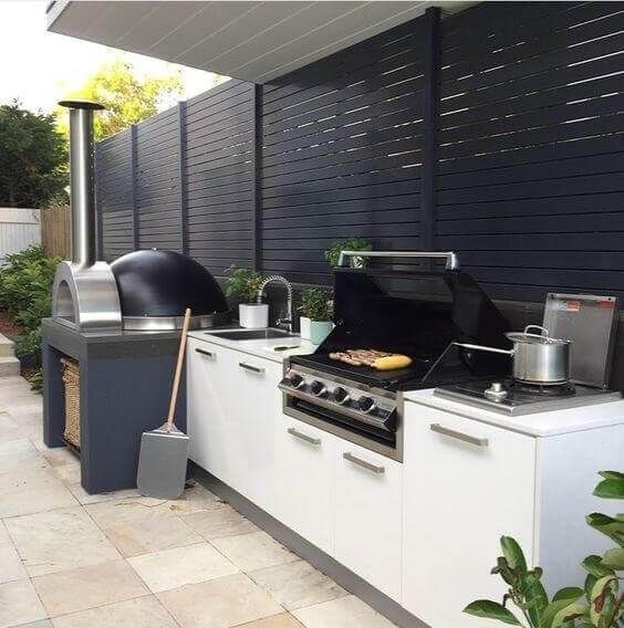 45 Awesome Outdoor Kitchen Ideas And Design Pandriva Outdoor Bbq Kitchen Outdoor Kitchen Decor Modern Outdoor Kitchen