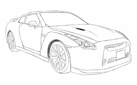 Fast And Furious Coloring Pages Nissan Gtr R35 Educative Printable Nissan Gtr Fast And Furious Nissan Gtr R35