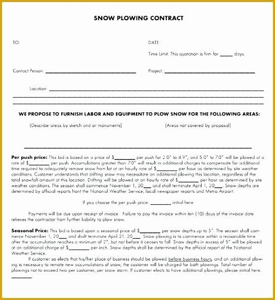 Snow Removal Contracts Template Best Of 20 Snow Plowing Contract Templates Free Download Proposal Templates Contract Templates Contract Template