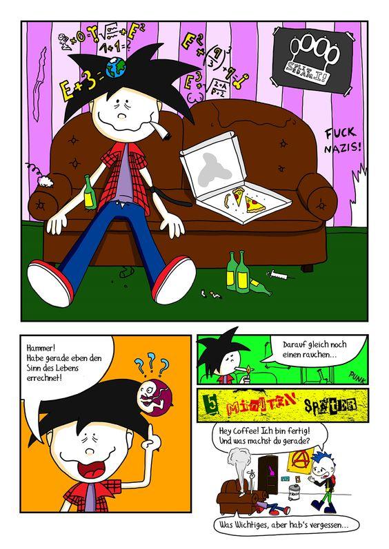 Seite 01 – Punks'n\'Banters Comic