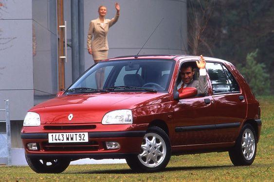 Renault Clio Rt 5 Door Worldwide 1996 98 Renault Clio