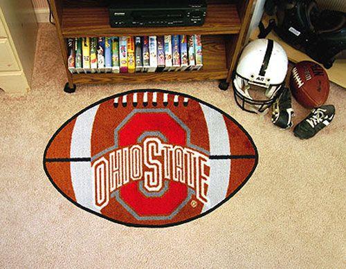 ohio state bedroom decorating ideas ohio state buckeyes football rug