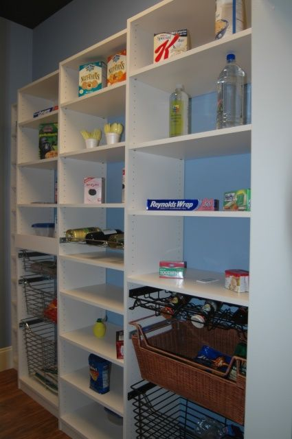 Pantry Shelving U0026 Storage Gallery By Carolina Closets