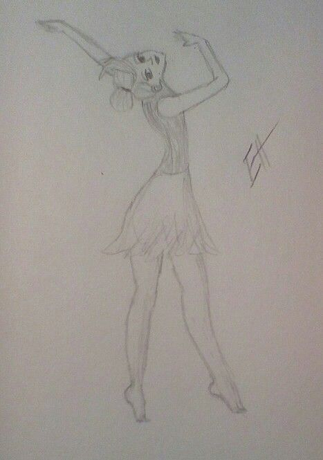 Cute dancer. Sorry I haven't posted in a while! Busy with school