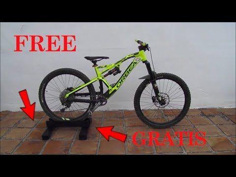 Cómo Hacer Un Soporte Casero Para Tu Bicicleta How To Make A Handmade Bike Stand Y Soportes Para Bicicletas Bases Para Bicicletas Rodillos Para Bicicletas
