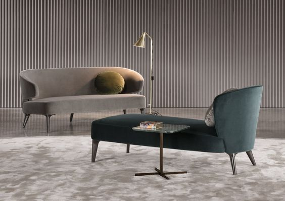 Contemporary lounge chair / by Rodolfo Dordoni / indoor ASTON Minotti