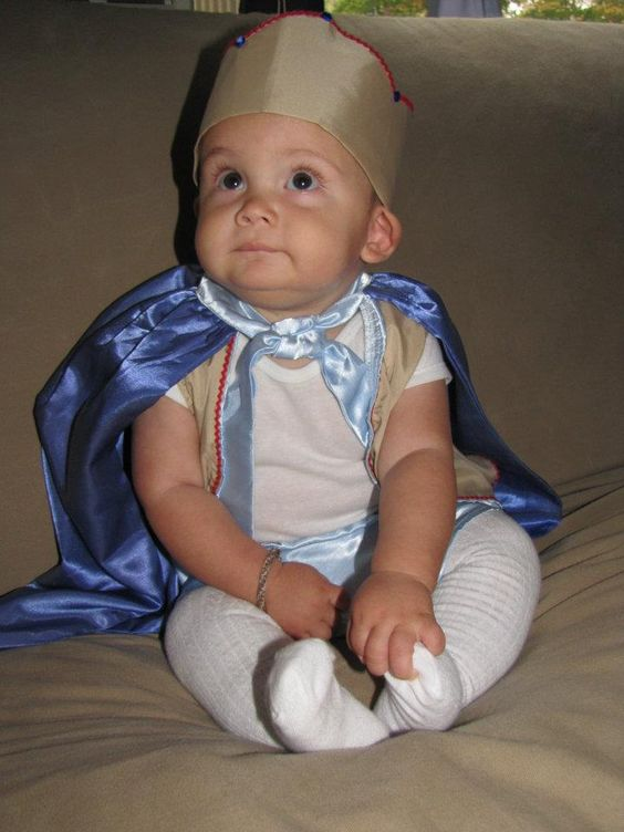 This was my son's first Halloween. He was the cutest prince I have ever seem. https://www.facebook.com/artisaninbloom