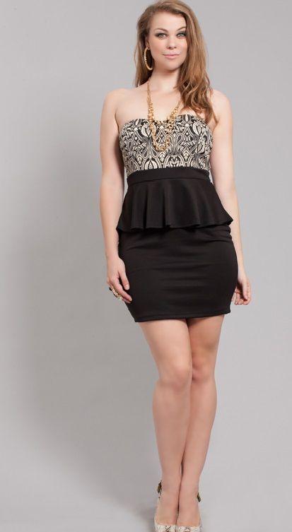 V back black dress 22 24