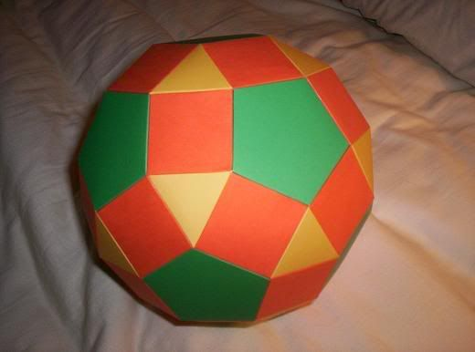 Rhombicosidodecahedrons