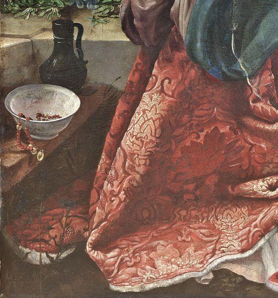 Matthias Grünewald, Stuppacher Madonna, 1517, © Foto: Gisbert Sacher, fokus Gesellshaft für Bauvermessung, Photogrammetrie und Bildbearbeitung mbH Leipzig