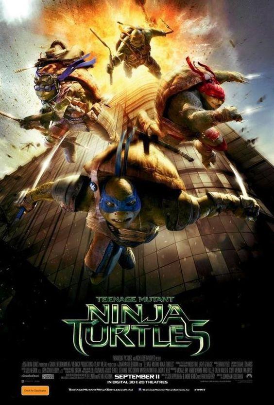 Estúdio pede desculpas por pôster das Tartarugas Ninjas que lembra 11 de Setembro >> http://glo.bo/1rGV2Vh