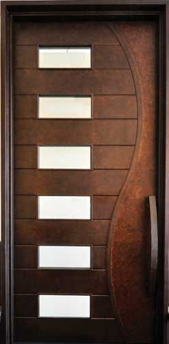 Beautiful!! Portella Iron Door Contemporary Door M3000: