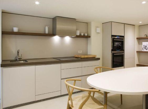 Küchen-Hängeschrank B1 Bulthaup mit Schiebetüre küche - küchenzeile ohne hängeschränke