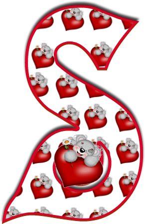 Oh my Alfabetos!: Alfabeto de Tatty con corazones.