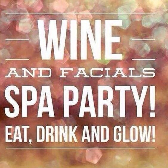Message me and we can set up a Spa Night for you and your girlfriends!