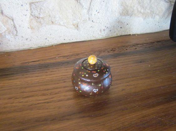Pour les noces de bois (5 ans) : Boîte à bagues, boîte décoration, pilulier