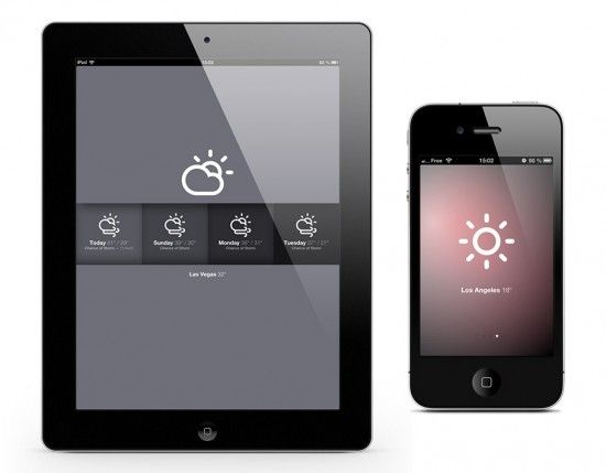 clean aesthetic & iconography  ///  Sun for iOS