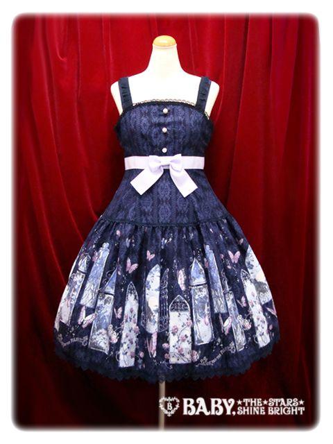 A Midsummer Night's Dream Print JSK I  真夏の夜の夢 柄 ジャンパースカートⅠ