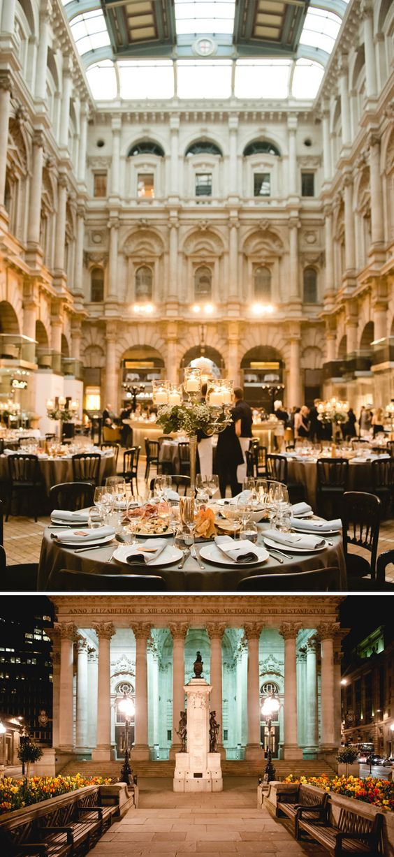 What an amazing venue! The Royal Exchange, London
