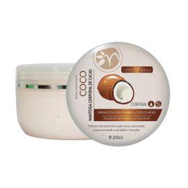 Manteiga Corporal de Cacau com Coco 200ml