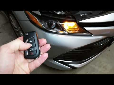 2018 2022 Toyota Camry Testing Smart Key Fob After Changing Weak Battery Youtube Toyota Camry Camry Smart Key