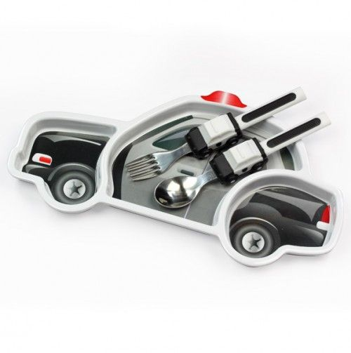 Me Time Police Car Set - fun gift for new baby boy!: