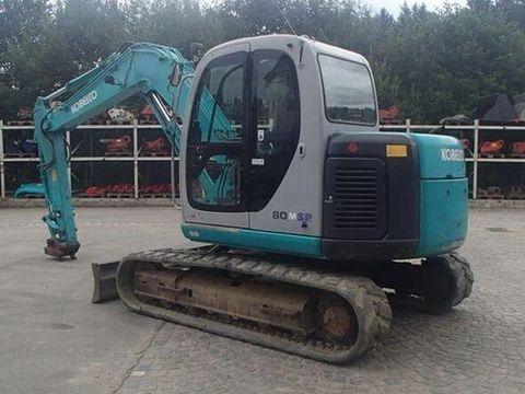 Download Kobelco Sk80msr Sk80cs Hydraulic Excavator Service Repair Manual Lf01 00501 S5lf0002e 00 03 91 Repair Manuals Excavator Hydraulic Excavator