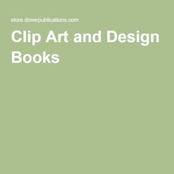 Clip Art and Design Books