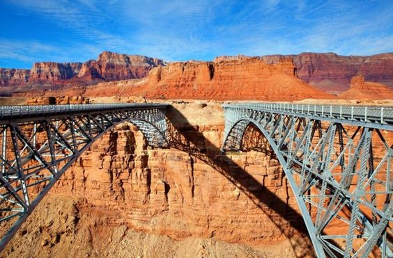 Navajo Bridge, Arizona. I have some cool pictures for 2000 when I stopeed here. You should look down!