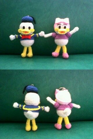 Donald Duck and Daisy