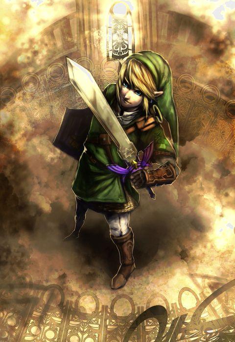「時の神殿もう一度行きたい」/「まっちょー」のイラスト [pixiv] Link | The Legend of Zelda
