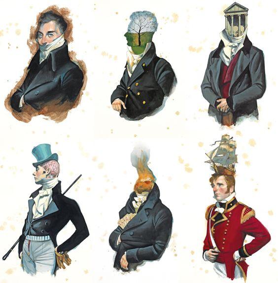 Mansfield Park - Jane Austen Male Characters #fernandovicente #mansfieldpark #JaneAusten