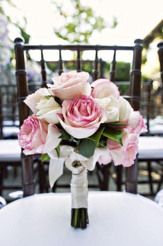 Perfect wedding flowers.