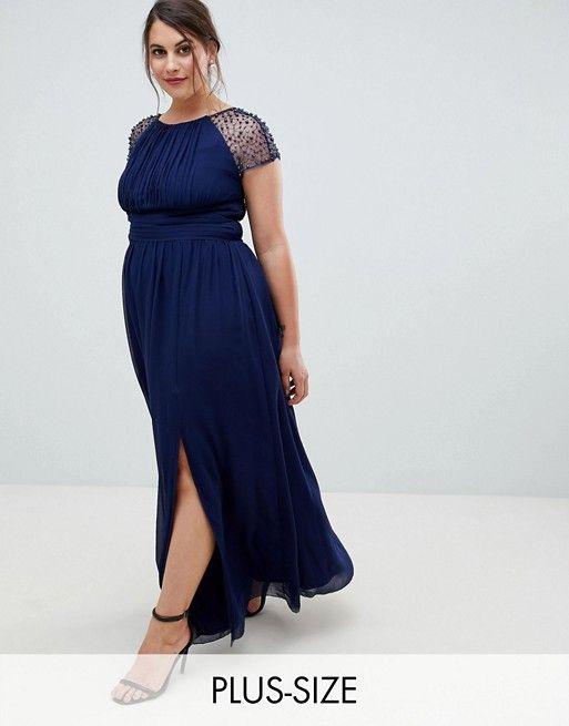 Navy Blue Wedding Guest Dress Plus Size 56 Off Teknikcnc Com,Open Back Stella York Wedding Dresses