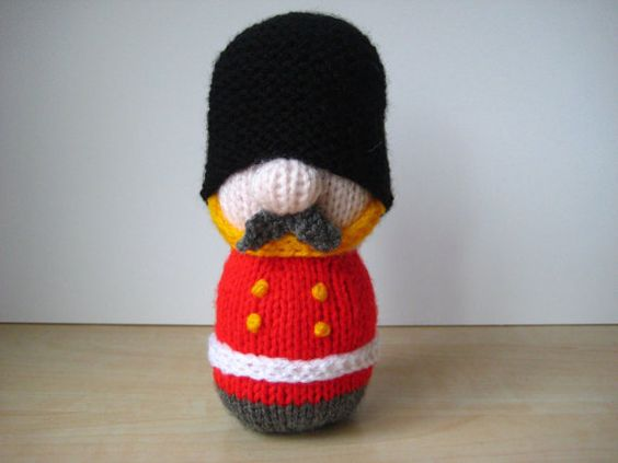 Knitting Patterns Toy Soldiers : Toy soldiers, Soldiers and Toys on Pinterest
