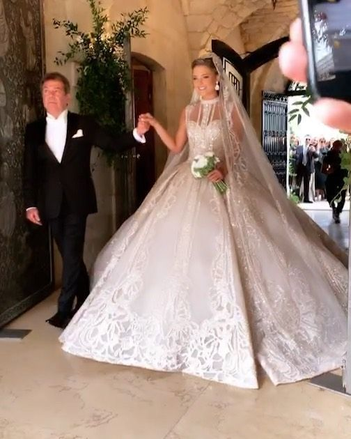 Elie Saab S Son Elie Saab Jr Married Christina Mourad Who Goes