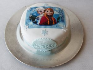 Tarta Frozen personalizada by Ideas mamá
