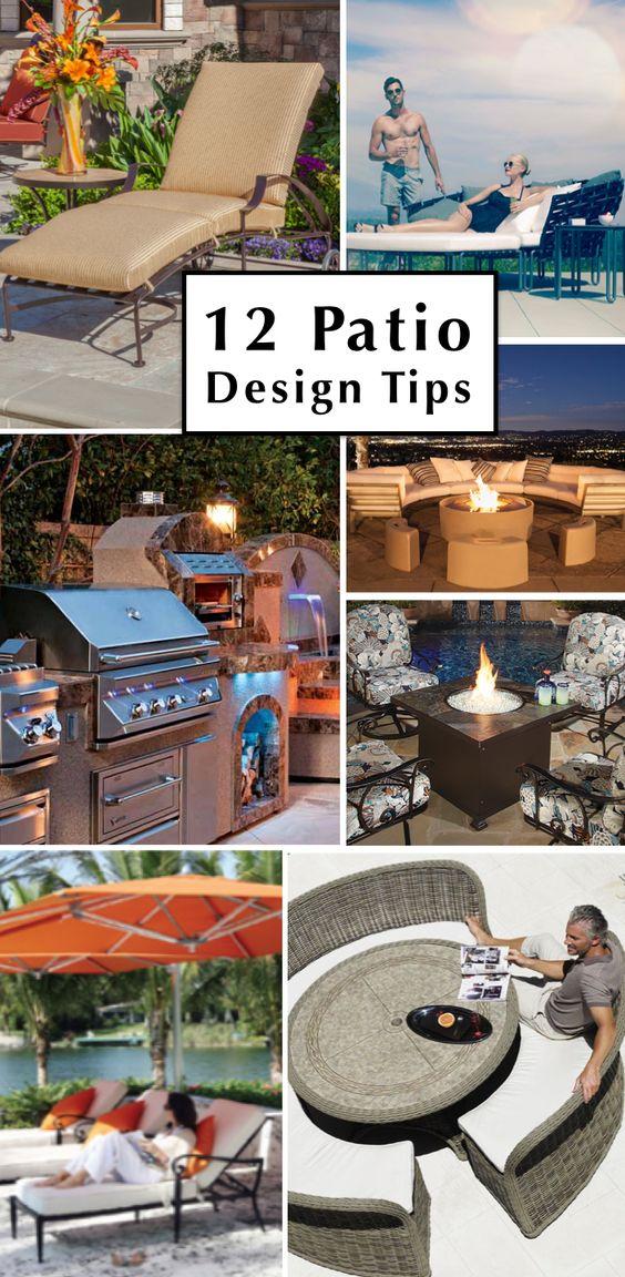 Outdoor Living & Lifestyle Blog | 12 #Patio Design Tips