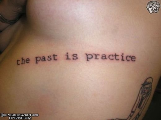 word tattoo ideas