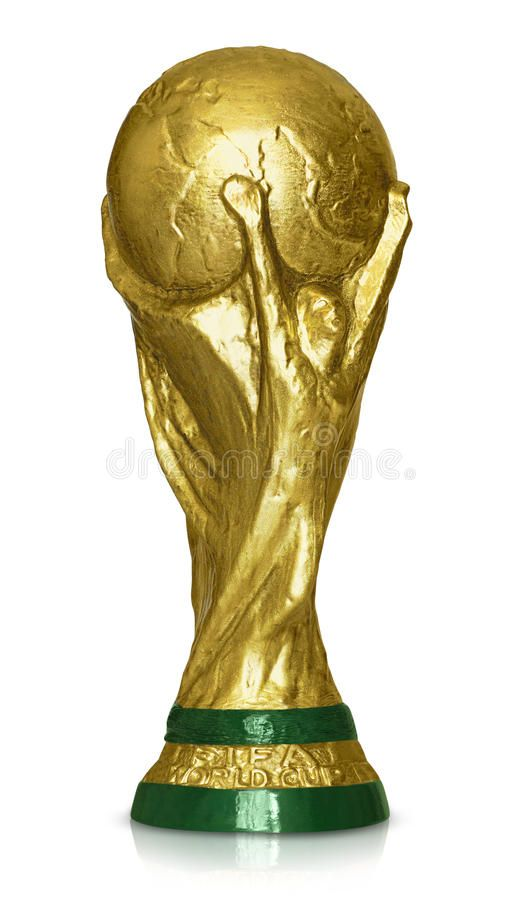 Fifa World Cup Trophy Reproduction Of Original Soccer World Cup Isolated On Whi Ad Trophy Reproduction Original Fifa World Ad Projecten
