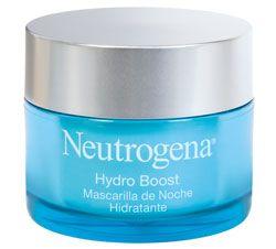mascarilla de noche hidratante Hydro Boost de Neutrogena