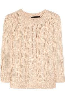 Tibi Cable-knit sweater NET-A-PORTER.COM - StyleSays